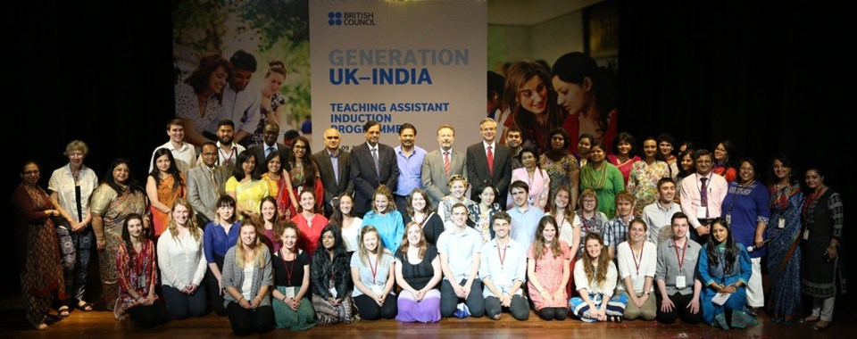 Launch of Generation UK India Teaching Assistants Programme 2015