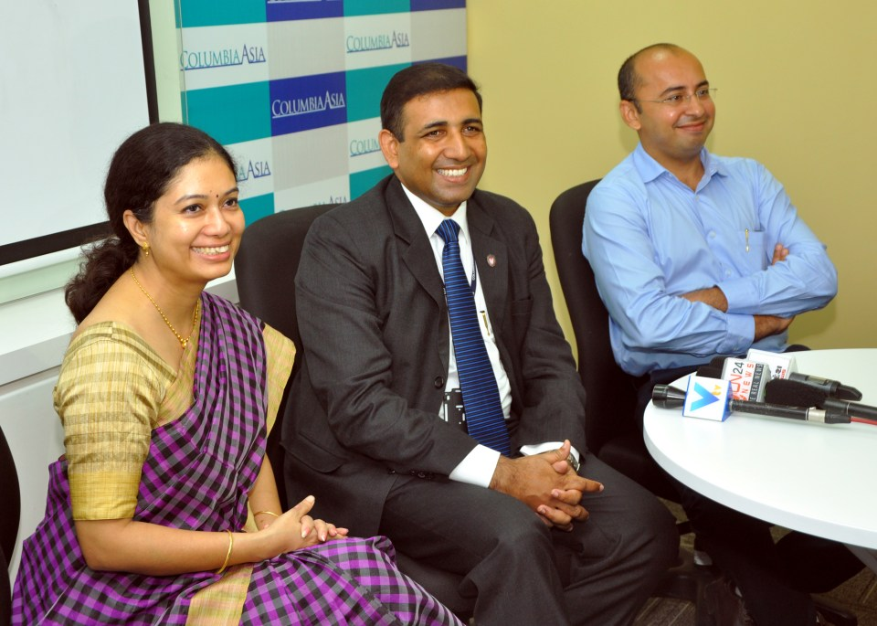 Completing one year celebration at Columbia Asia Hospital- Ahmedabad pic 8