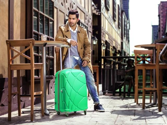 Varun Dhawan with Reef strolley