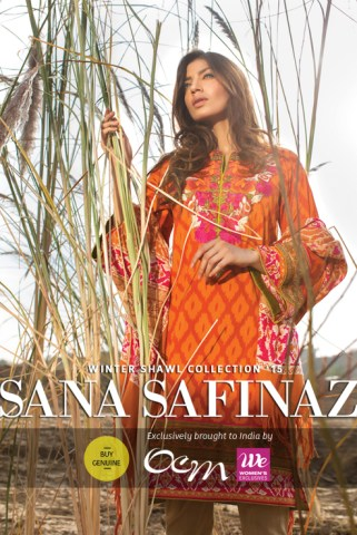 Ocm Exclusively Brings To India The Much Awaited Sana Safinaz Winter