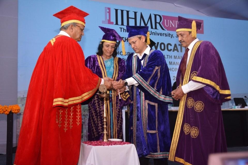 Dr. SD Gupta President IIHMR University Dr. Poonam Khetrapal Regional Director WHO South East Asia Region New Delhi  _