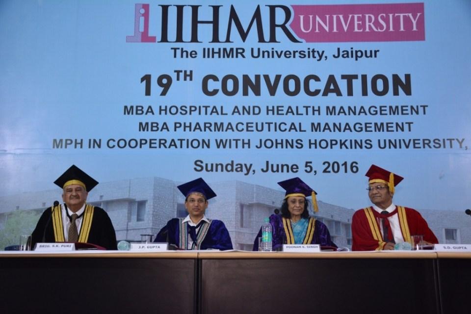 L-R  Dr. Brig SK Puri  Advisor  IIHMR University  Dr. JP Gupta  IAS  Principal Health Secretary  Govt of Gujarat  Dr._