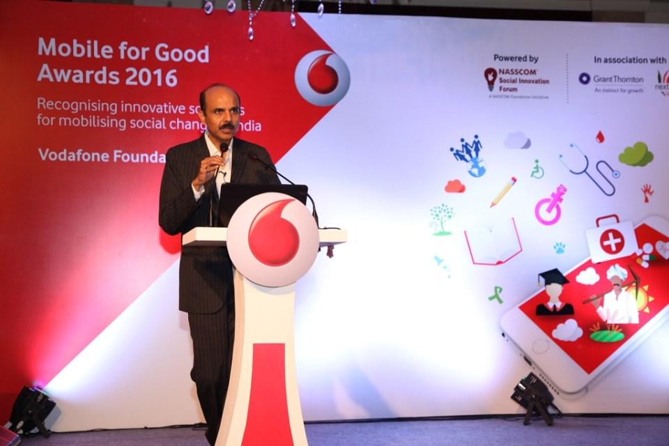 P.Balaji  Director  Regulatory  External Affairs & CSR  Vodafone India Ltd.