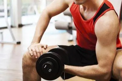Does your elbow hurt when you are working out?
