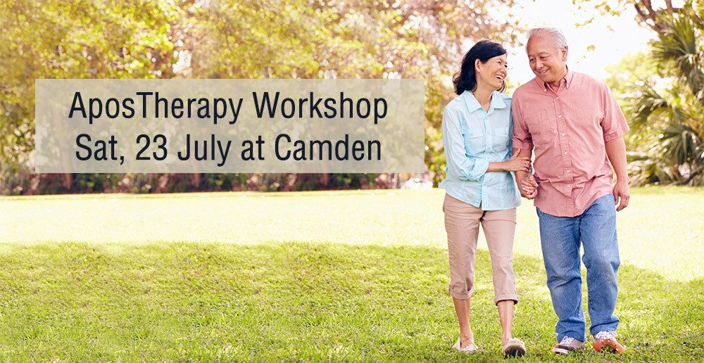Sat 23 July AposTherapy Workshop