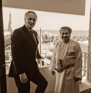 Rod Macdonald in Oman