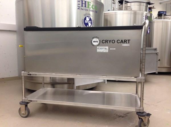 Mve Cryocart - Core Cryolab
