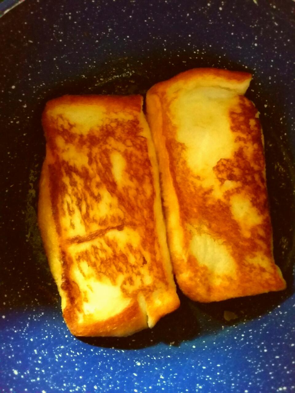 【画像】俺のフレンチトーストめちゃくちゃ美味そうでワロタwww