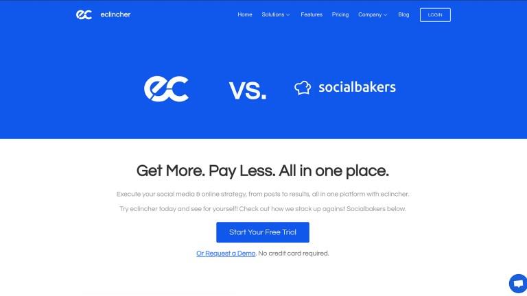 eclincher vs socialbakers