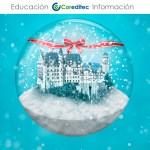 Aprende Photoshop: globo de la nieve del invierno