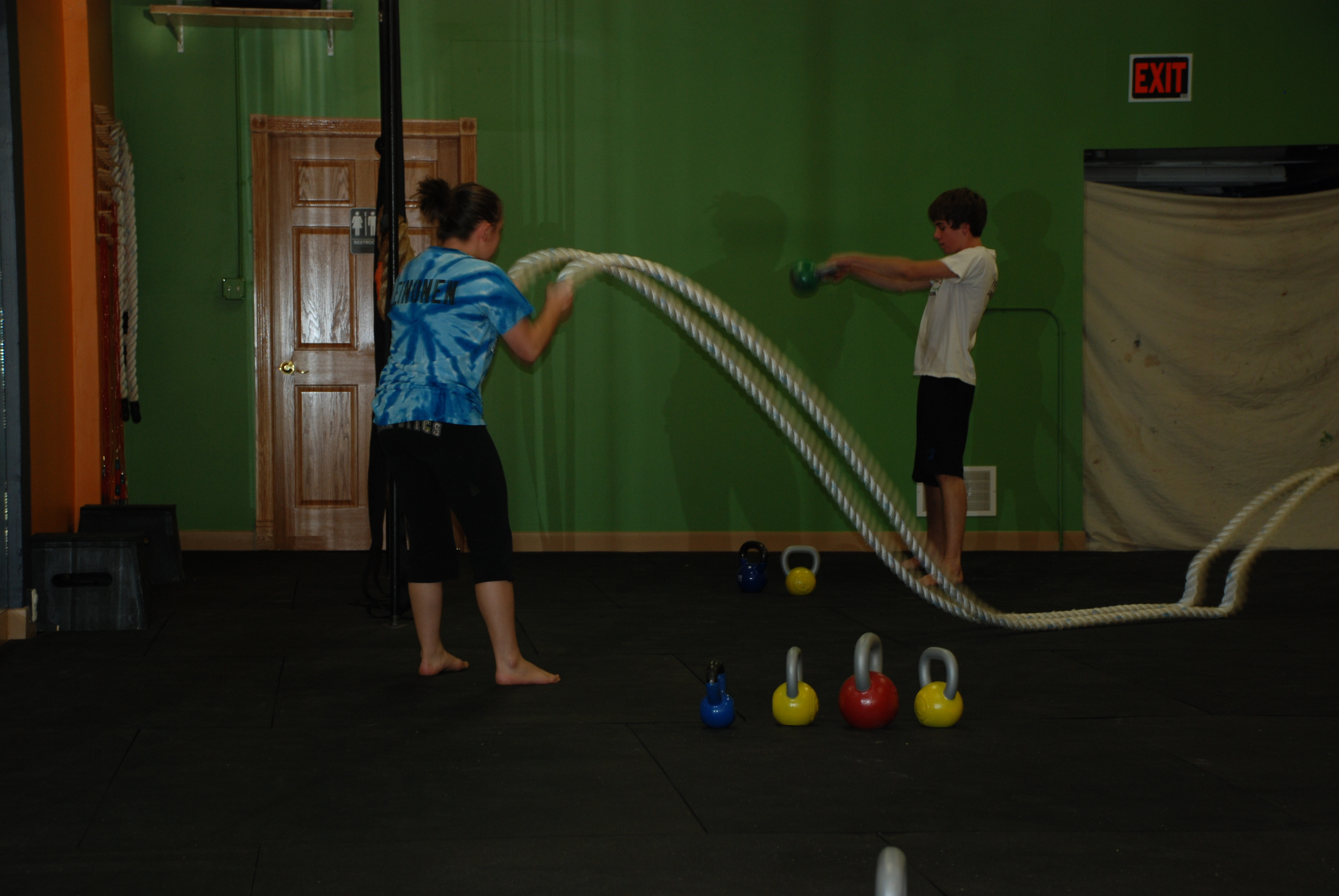 Ropes and Swings