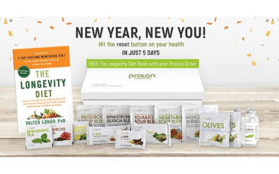 New Year 2021 Fast Week with ProLon FMD!  January 10-14