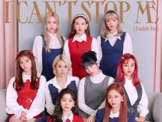 TWICE I CAN'T STOP ME Mp3 Download