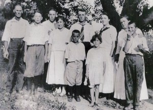 James H. Corel Family Circa 1916
