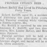 Robert Ratliff Obituary