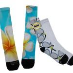 215Coastal Business Dye Sub Socks no logo