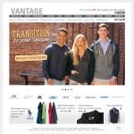 116InkSoft Vantage Apparel catalog
