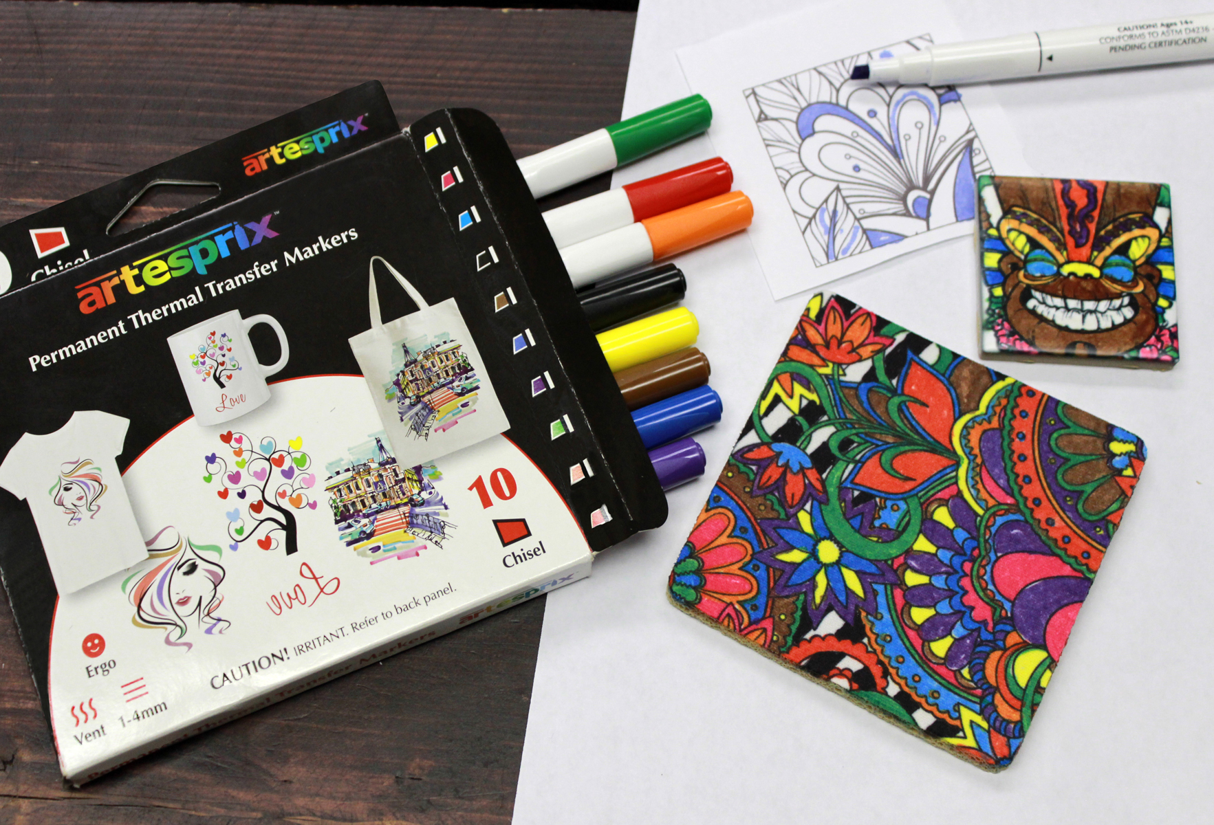 Condé Introduces Sublimation Transfer Markers - July 28, 2019
