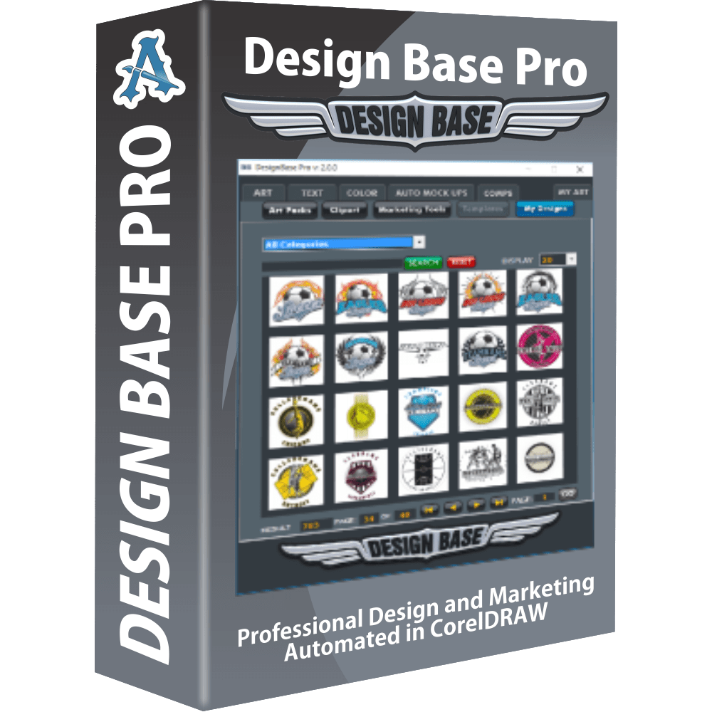 Design Base Pro 2.0 Automation Plug-In for CorelDRAW