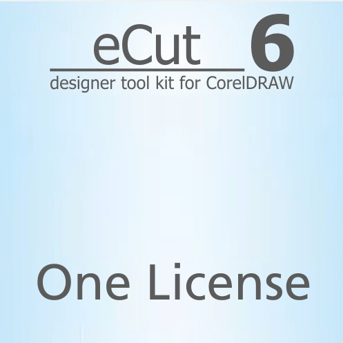 eCut 6.0 Designer Toolkit for CorelDRAW One License