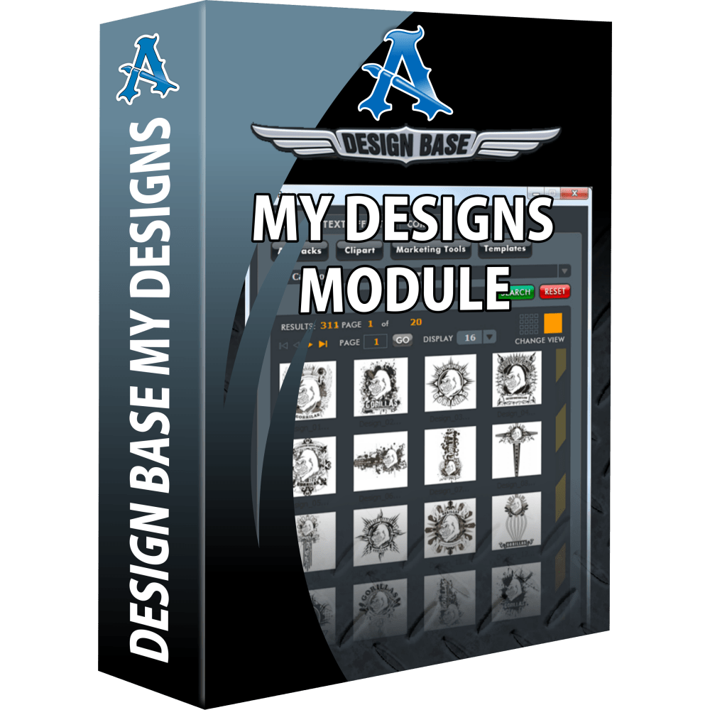 My Designs Module for Design Base Automation Plug-In