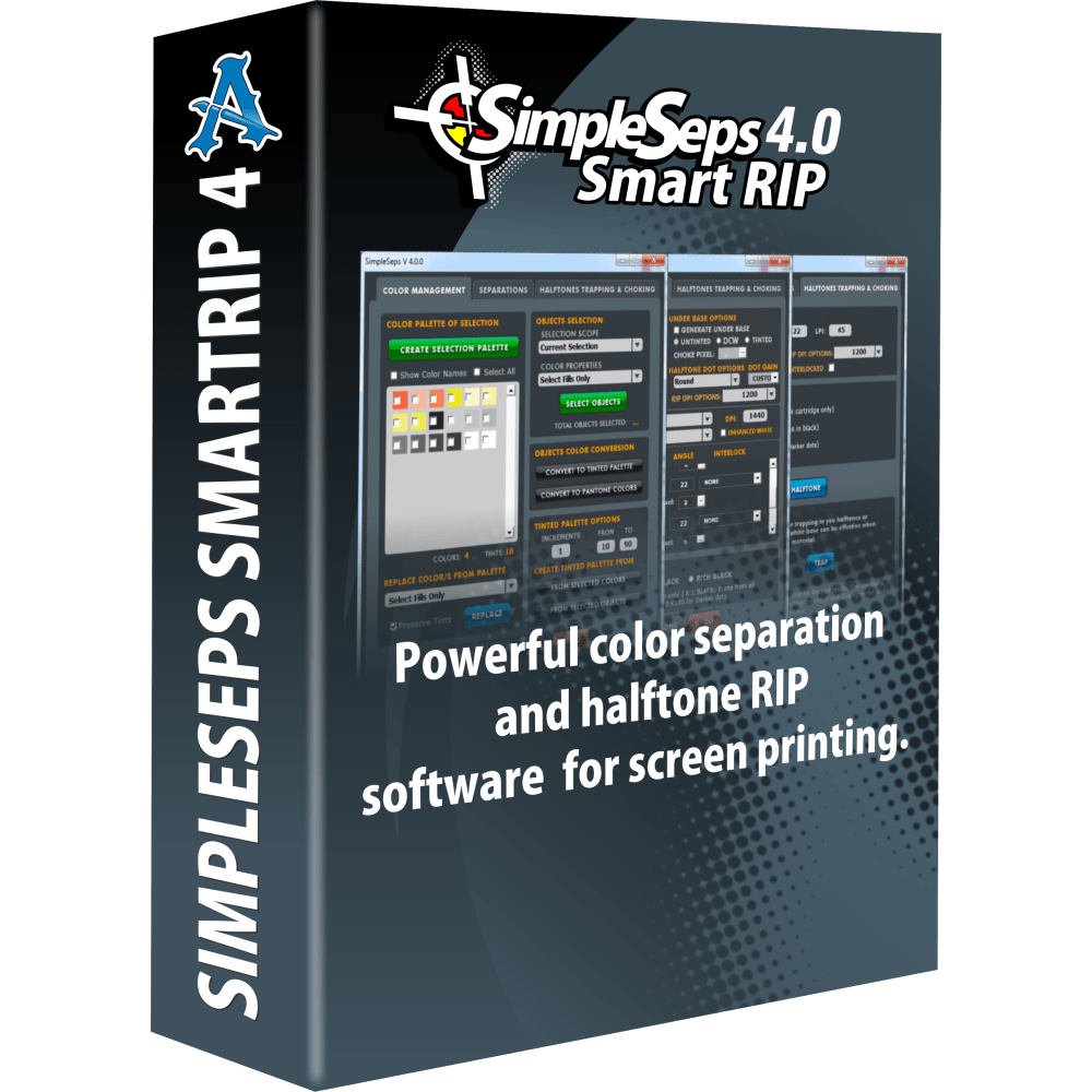 SimpleSeps SmartRIP 4.5 for CorelDRAW X6, X7, X8 & 2017