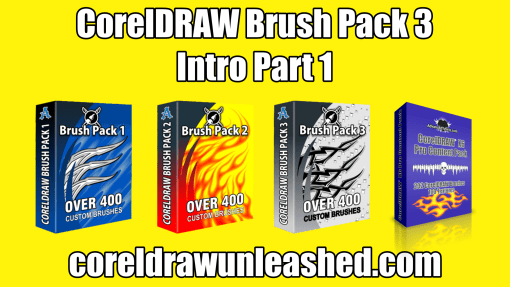 CorelDRAW Brush Pack 3 Intro Part 1