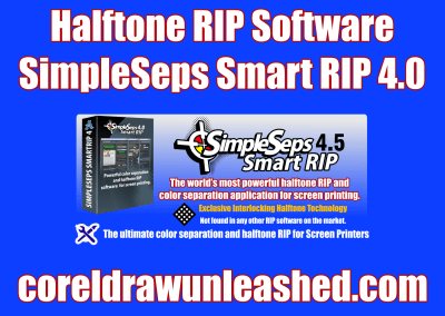 Halftone RIP Software SimpleSeps Smart RIP 4.0