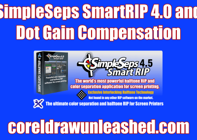 SimpleSeps SmartRIP 4.0 and Dot Gain Compensation