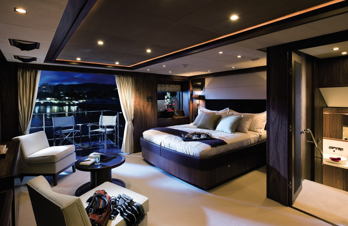 Fancy Yacht Friday  The Sunseeker 155  Core Lux Living