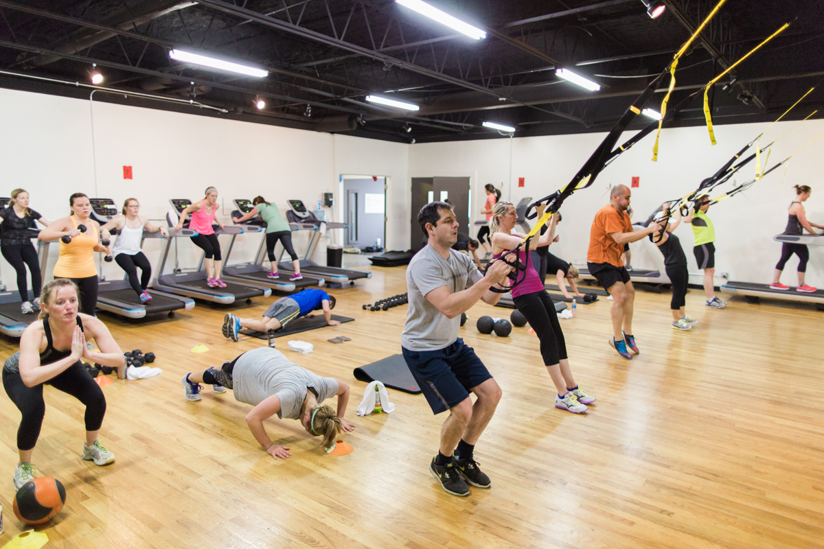 Privates Fitnessstudio Group Fitness Classes Core Fitness Studio