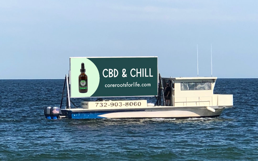 CBD and Chill: Core Roots Makes Waves With The Shore Board