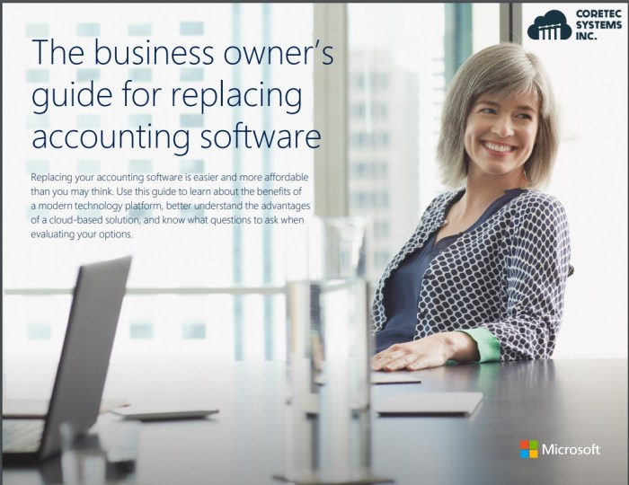 The business owners guide for replacing accounting software