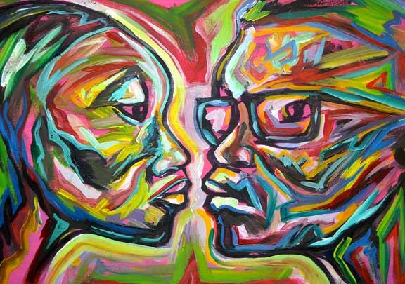 Atlanta Artist Corey Barksdale Art Gallery