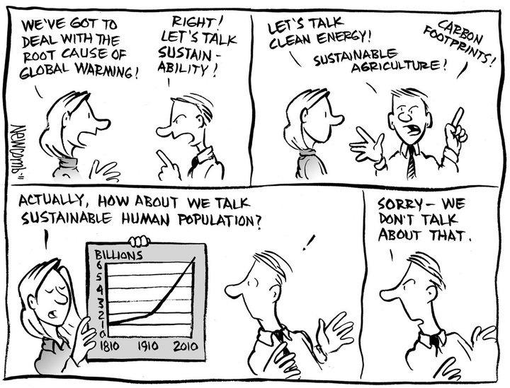 Cartoon guide to biodiversity loss XVII