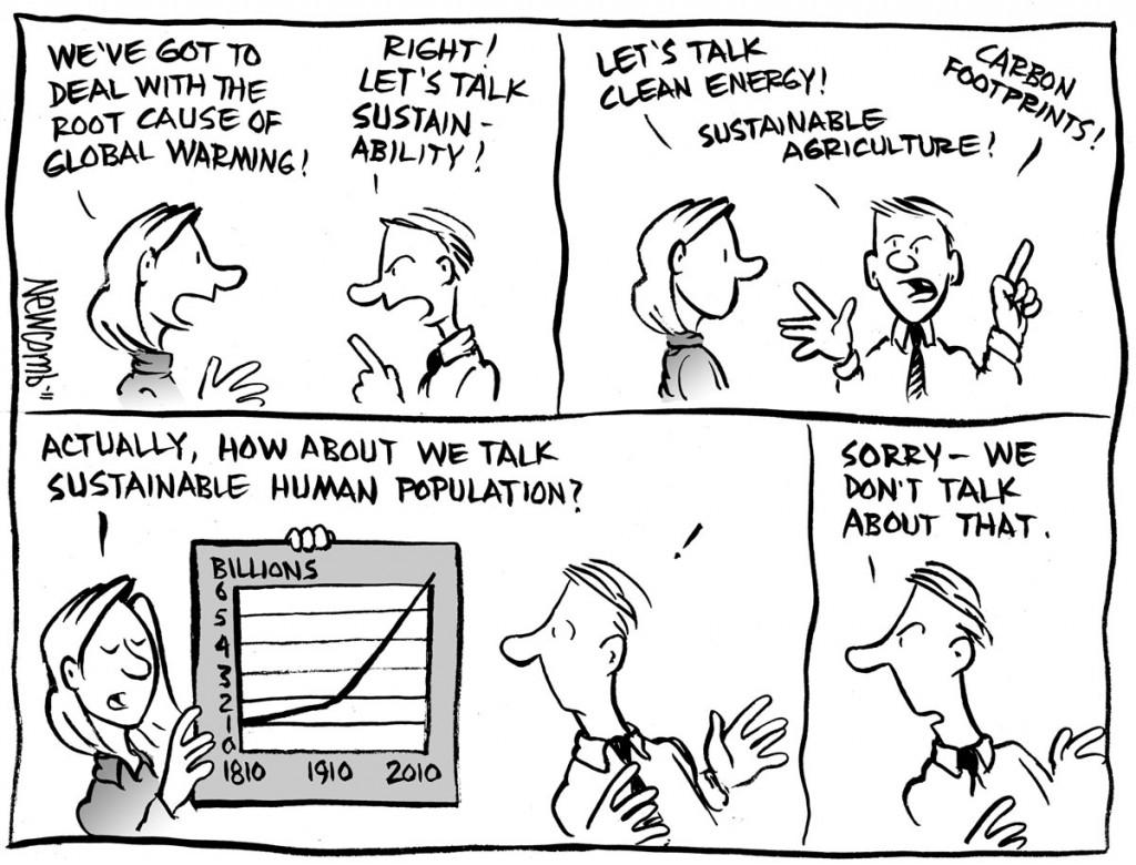 Cartoon guide to biodiversity loss XXVI