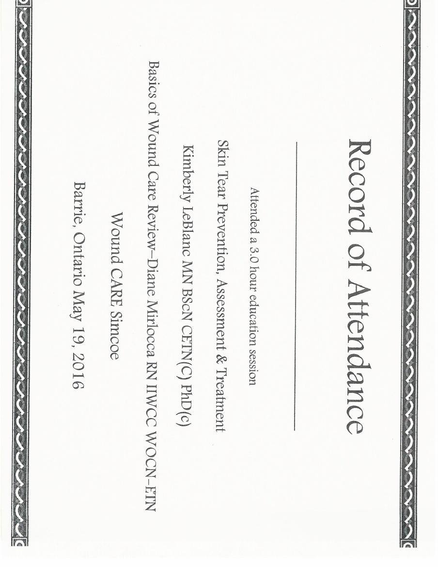 Training & Certificates