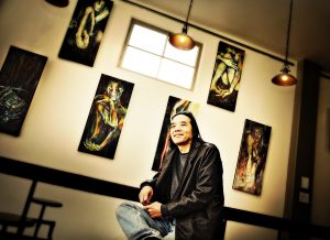 corey okada at insight. photo by kathy higgins