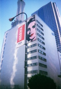 Corey Okada visits the Warhol exhibit at LAMOCA
