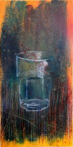 Another amazing painting by Corey Okada called An August Glass (For Laureen)