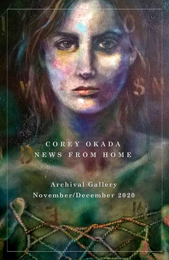 News From Home - Gallery Show by Corey Okada