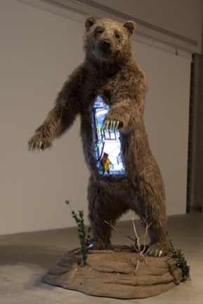 Malling Bear, 2014, Mixed Media, Dimensions variable