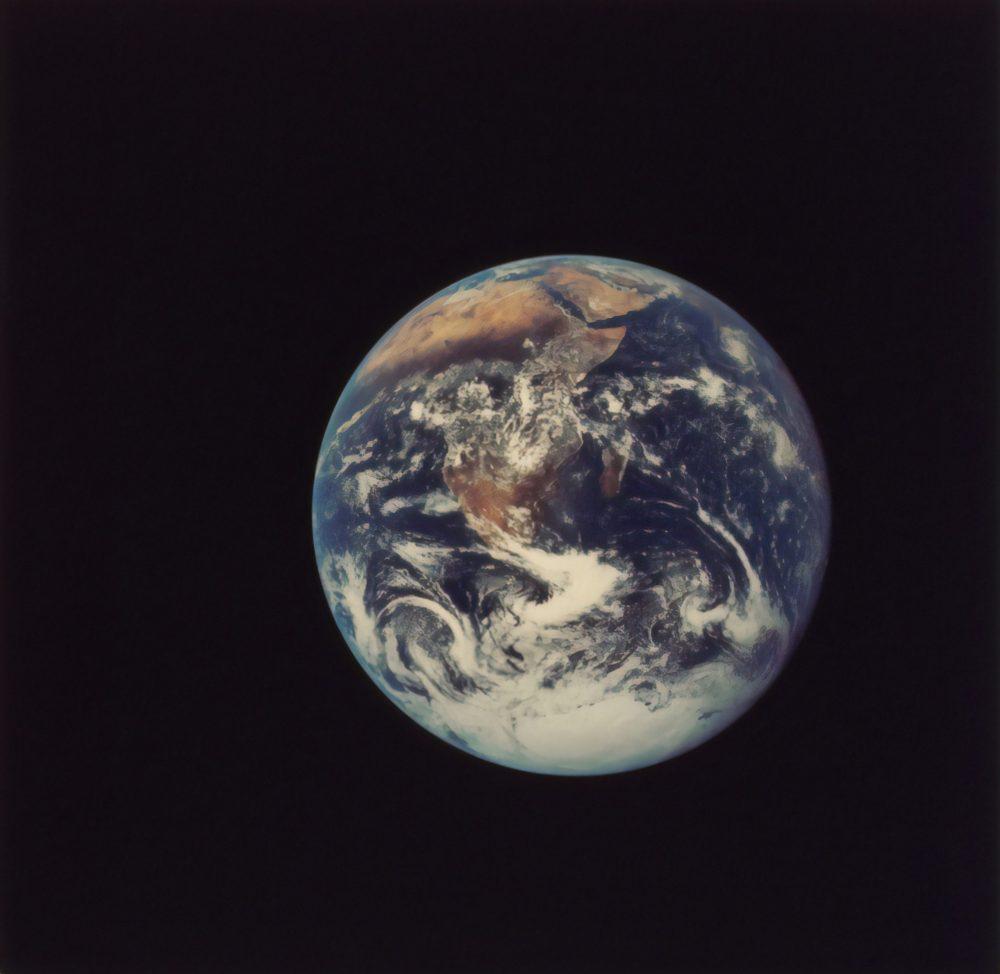 Full Disk Earth, Apollo 17, 1972