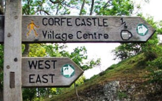 Corfe Castle - How to get here