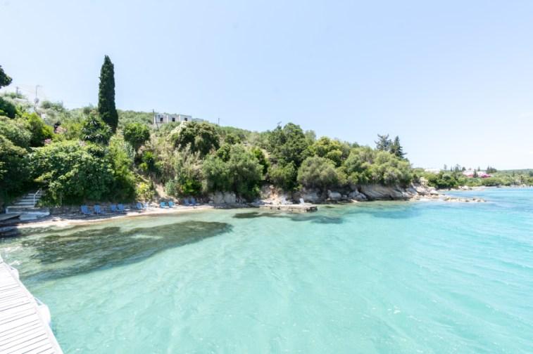 Beach clear water