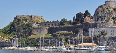 Corfu_Old_Fortress corfu fortresses