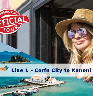 corfu sightseeing bus kanoni