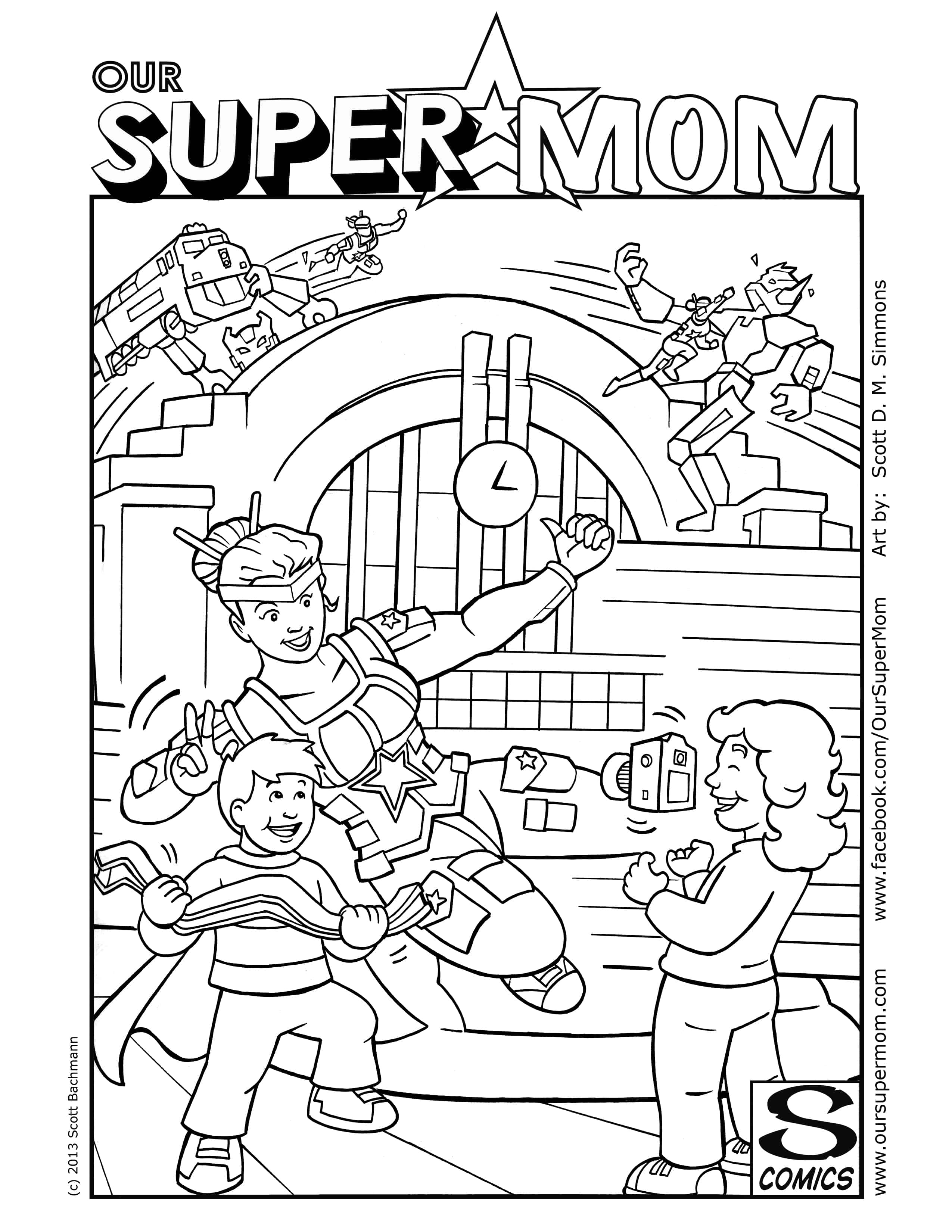 Kids Coloring Page 2