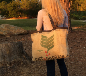 Recycled Coffee Tote