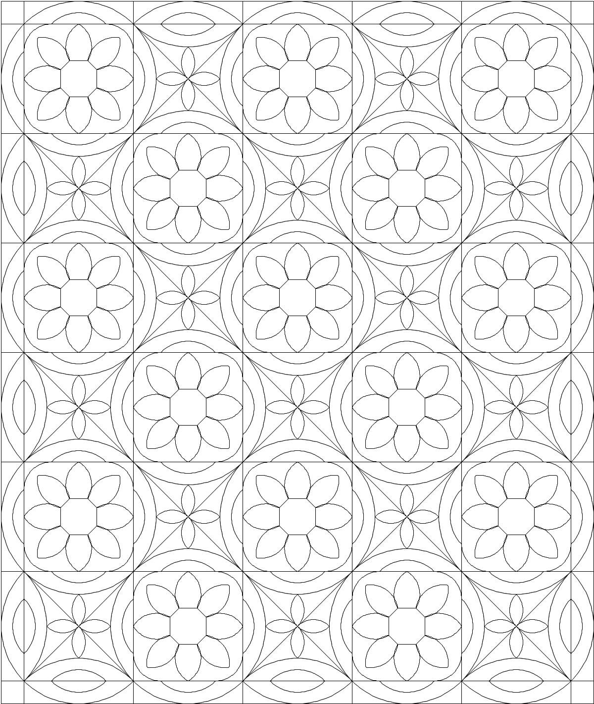 Tessellation Quilt Patterns Free